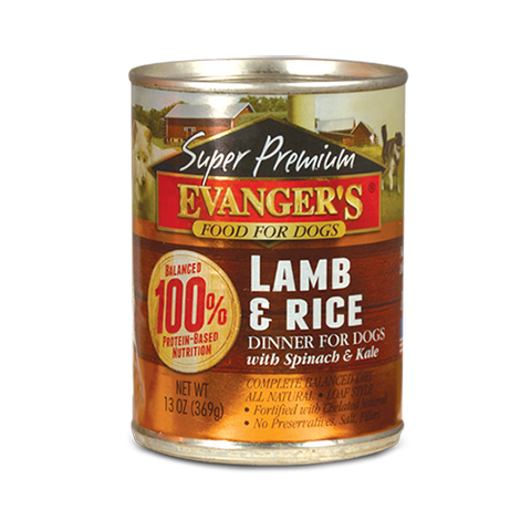 Evanger's Lamb & Rice Dinner Dog Food