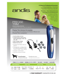 Andis®Precise Trim® Cord/Cordless Trimmer