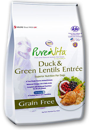 PureVita™ Grain Free Duck and Green Lentils Formula Dog Food