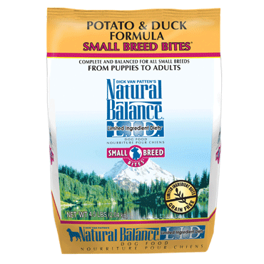 Natural Balance L.I.D. Limited Ingredient Diets® Potato & Duck Small Breed Bites® Dry Dog Formula