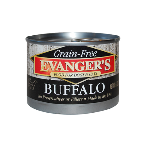 Evanger's Grain Free Buffalo For Dogs & Cats