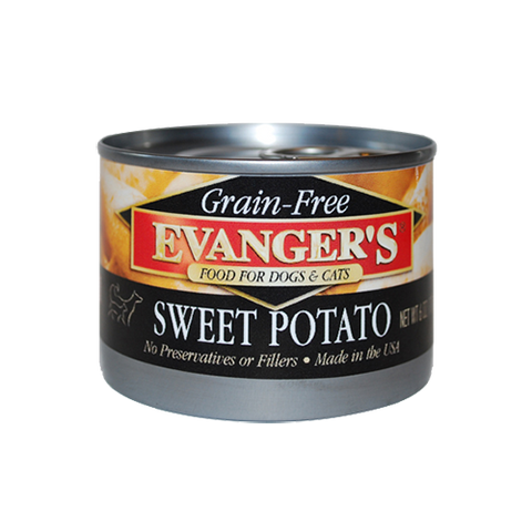 Evanger's 100% Grain Free Sweet Potato For Dogs & Cats