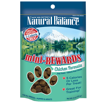 Natural Balance Mini-Rewards - Chicken Formula for Dogs