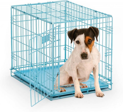 Midwest iCrate Single Door Blue Dog Crate