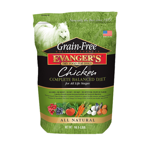 Evanger's Grain Free Chicken, Sweet Potato & Pumpkin Dog Food
