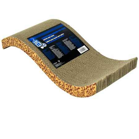 Catit Style Scratcher with Catnip - Animal Print
