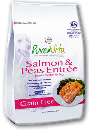 PureVita™ Grain Free Salmon & Peas Formula Dog Food