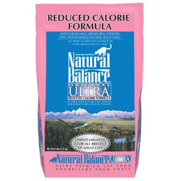 Natural Balance Reduced Calorie Dry Cat Formula