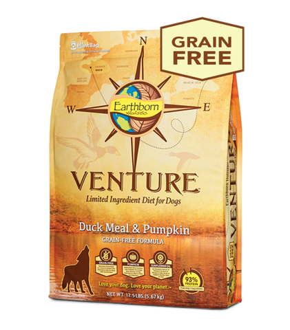 Earthborn Holistic Venture™ Duck Meal & Pumpkin Dry Dog Food