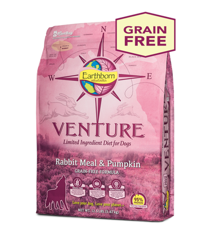 Earthborn Holistic Venture™ Rabbit Meal & Pumpkin Dry Dog Food