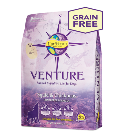 Earthborn Holistic Venture™ Squid & Chickpeas Dry Dog Food