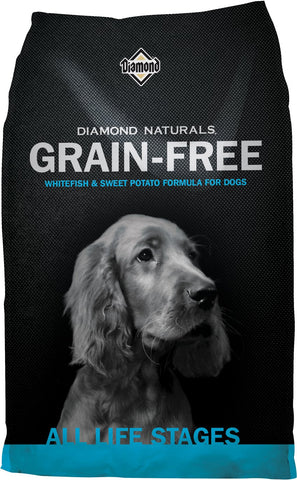 Diamond Naturals® Grain-Free Whitefish & Sweet Potato Formula Dry Dog Food