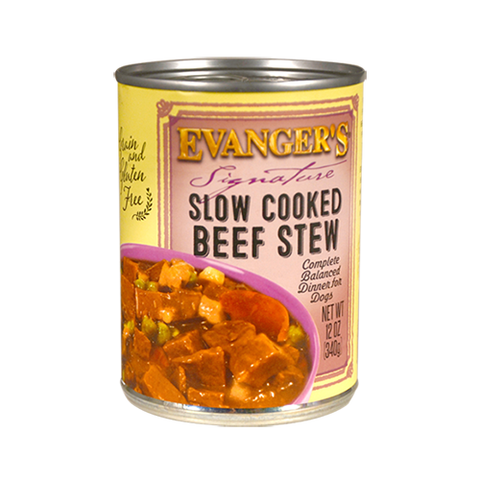 Evanger's Slow Cooked Beef Stew Dog Food