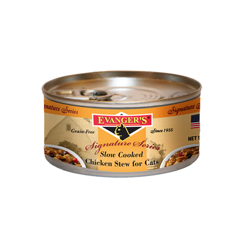 Evanger's Slow Cooked Chicken Stew For Cats