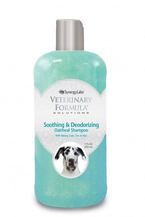 Veterinary Formula-Clinical Care Soothing and Deodorizing Oatmeal Shampoo
