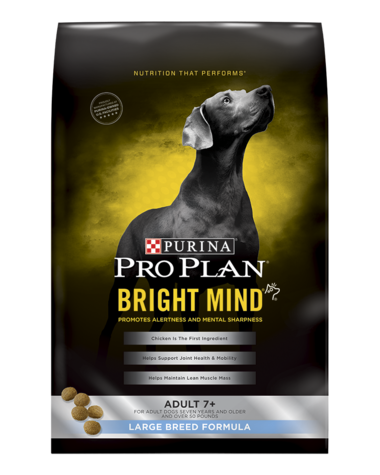 Pro Plan BRIGHT MIND Adult 7+ Large Breed Formula Dry Dog Food