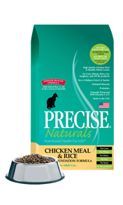 Precise Naturals® Chicken Meal & Rice Feline Foundation Formula Cat Food