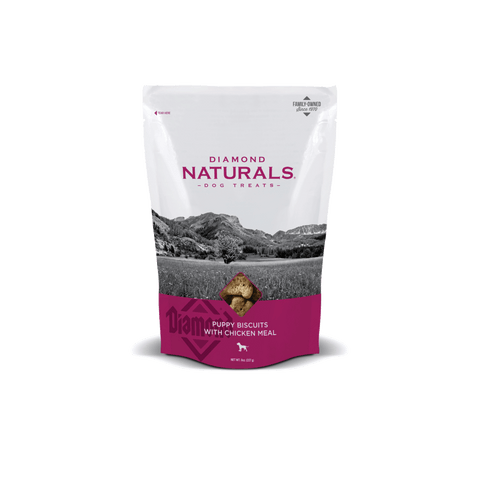 Diamond Naturals® Puppy Biscuits with Chicken Meal 8 oz