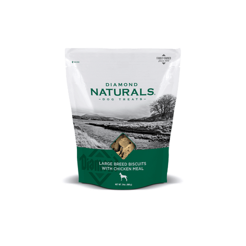Diamond Naturals® Large Breed Biscuits with Chicken Meal 24 oz