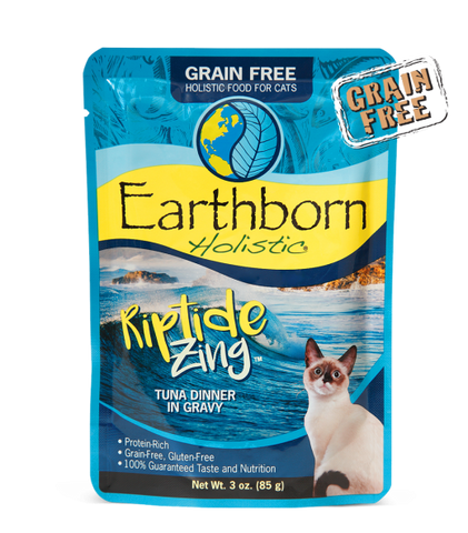 Earthborn Holistic Riptide Zing™ Tuna Dinner in Gravy For Cats