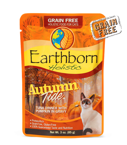 Earthborn Holistic Autumn Tide™ Tuna Dinner with Pumpkin in Gravy For Cats