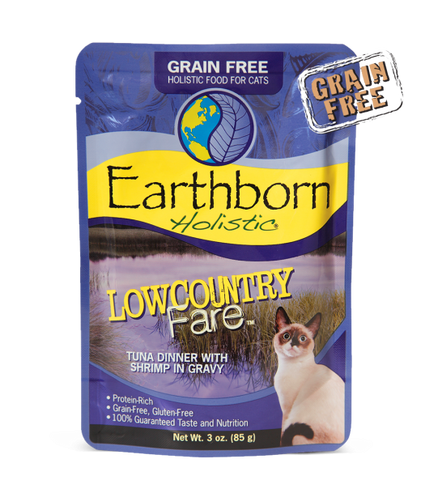 Earthborn Holistic Lowcountry Fare™ Tuna Dinner with Shrimp in Gravy For Cats
