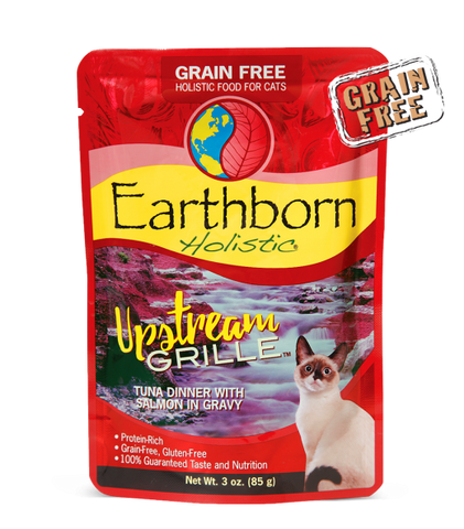 Earthborn Holistic Upstream Grille™ Tuna Dinner with Salmon in Gravy For Cats