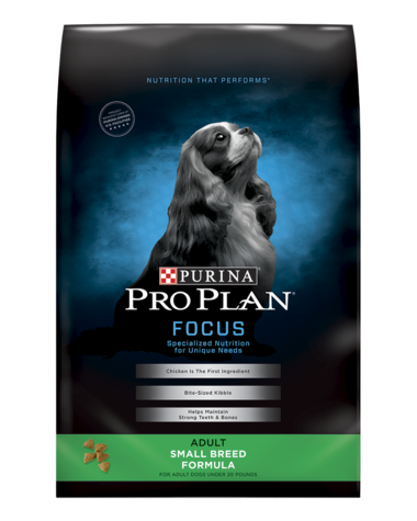 Pro Plan FOCUS Adult Small Breed Formula Dry Dog Food