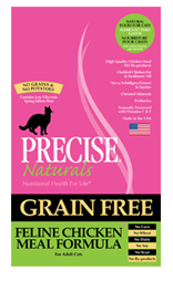 Precise Naturals Grain Free Feline Chicken Meal Formula Cat Food