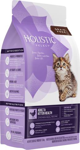 Holistic Select® Adult & Kitten Health Chicken Meal Cat Food