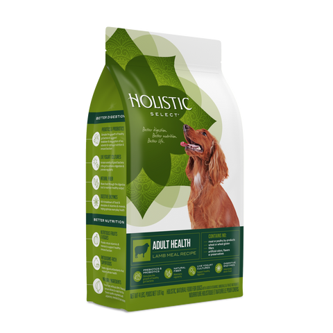 Holistic Select® Adult Health Lamb Meal Dog Food