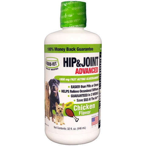 Liquid-Vet Dog Joint Formula - Chicken