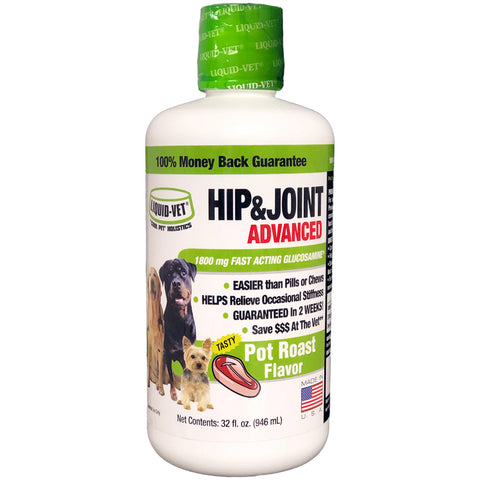 Liquid-Vet Dog Joint Formula - Pot Roast