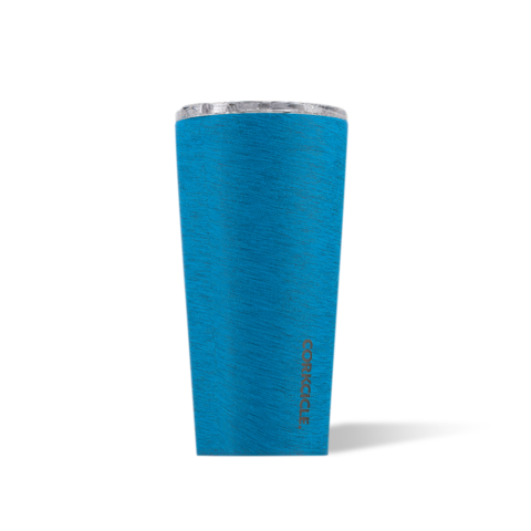 Corkcicle 16 oz Tumbler - Heathered Collection Navy