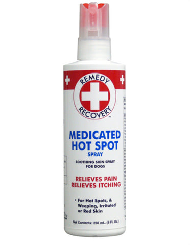 Medicated Hot Spot Spray