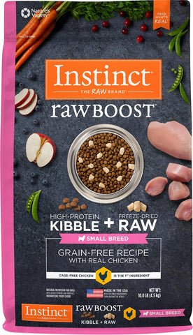 Instinct® Raw Boost® Grain-Free Recipe with Real Chicken for Small Breed Dogs
