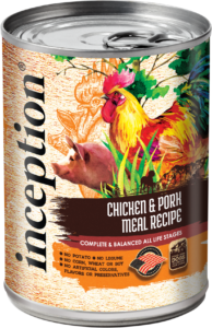 Inception® Chicken & Pork Meal Recipe Canned Food for Dogs
