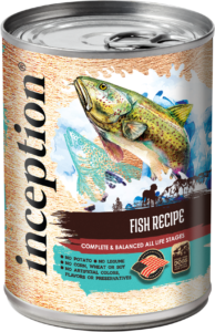 Inception® Fish Recipe Canned Food for Dogs