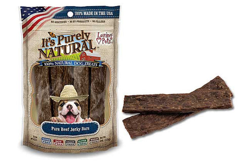 It's Purely Natural® Pure Beef Jerky Bars for Dogs