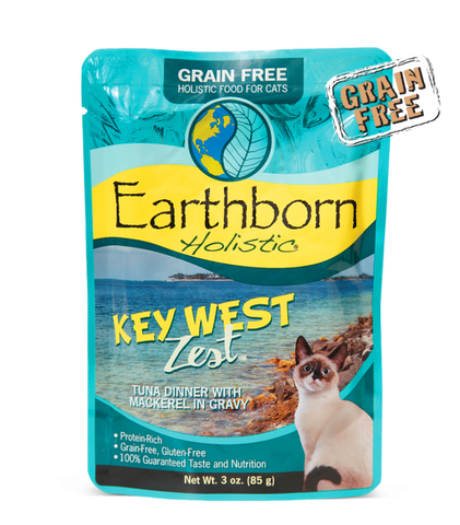 Earthborn Holistic Key West Zest™ Tuna Dinner with Mackerel in Gravy For Cats
