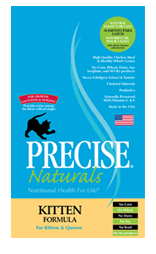 Precise Naturals Kitten Cat Food