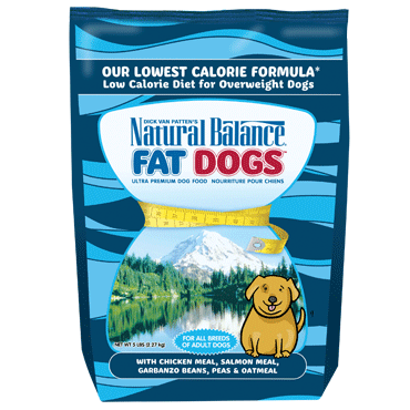 Natural Balance Fat Dogs® Low Calorie Dry Dog Formula