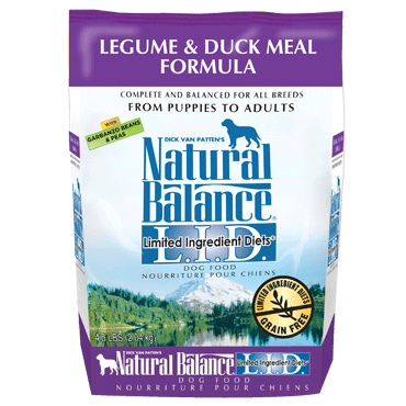 Natural Balance L.I.D. Limited Ingredient Diets® Legume & Duck Meal Dry Dog Formula