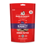 Stella & Chewy's Absolutely Rabbit Freeze-Dried Dinner Patties for Dogs