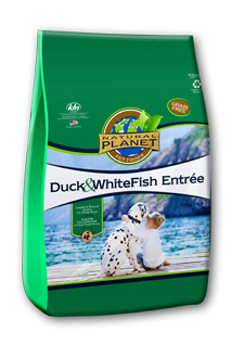 Natural Planet Duck & Whitefish Entree Dog Food
