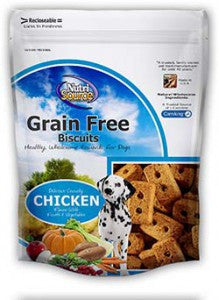 NutriSource® Grain Free Biscuits – Chicken for Dogs