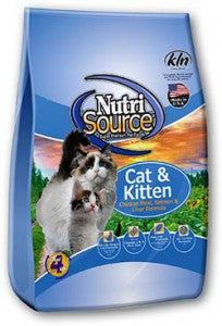 NutriSource® Cat & Kitten Chicken Meal, Salmon & Liver
