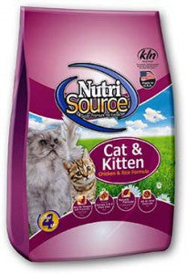 Nutrisource Cat and Kitten Chicken & Rice