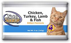 NutriSource® Chicken, Turkey, Lamb & Fish Kitten Formula