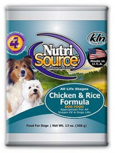 NutriSource® Chicken and Rice Formula Dog Food